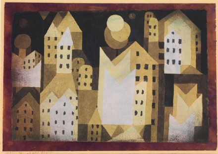 Klee, Paul: Cold City. Fine Art Print/Poster (4983)
